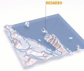 3d view of Menarbu