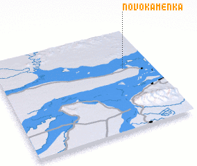 3d view of Novo-Kamenka
