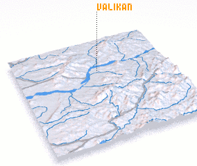 3d view of Valikan