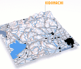 3d view of Kidomachi