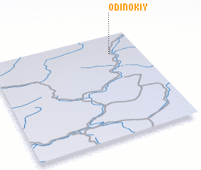 3d view of Odinokiy