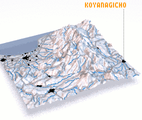 3d view of Koyanagichō