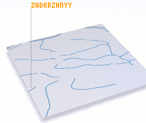 3d view of Zaderzhnyy