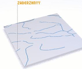 3d view of Zaderzhnyy