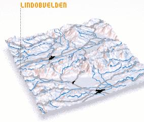 3d view of Lind ob Velden