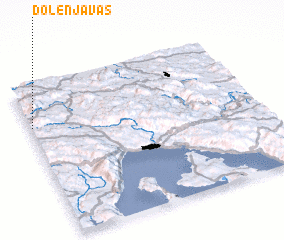 3d view of Dolenja Vas