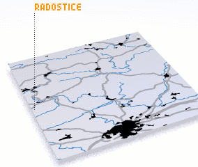 3d view of Radostice