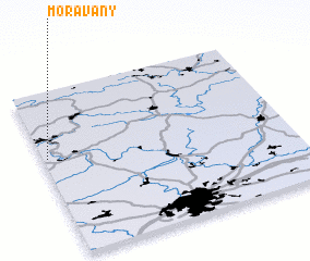 3d view of Moravany