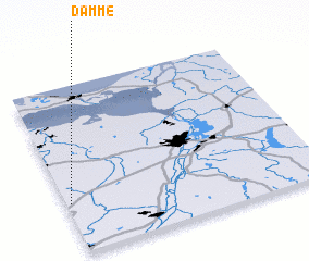 3d view of Damme