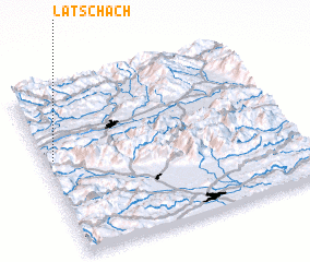 3d view of Latschach