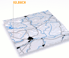 3d view of Iglbach