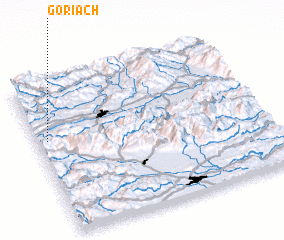 3d view of Göriach