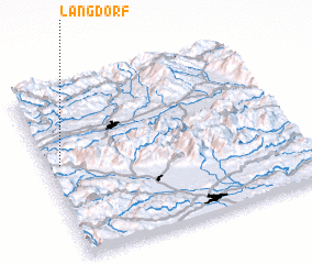 3d view of Längdorf