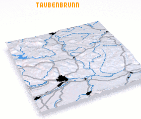 3d view of Taubenbrunn