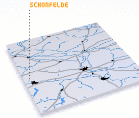 3d view of Schönfelde