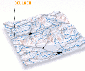 3d view of Dellach