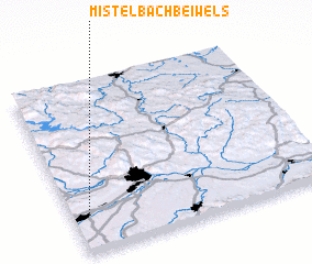 3d view of Mistelbach bei Wels