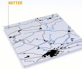 3d view of Hütten