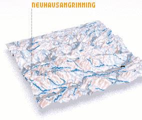 3d view of Neuhaus am Grimming