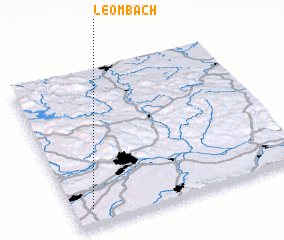 3d view of Leombach