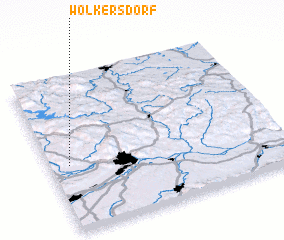 3d view of Wolkersdorf
