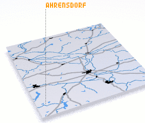 3d view of Ahrensdorf