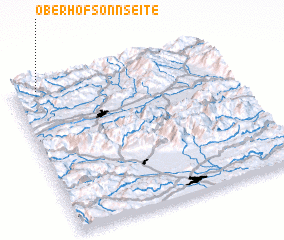 3d view of Oberhof-Sonnseite