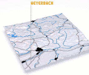3d view of Weyerbach