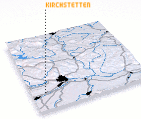 3d view of Kirchstetten