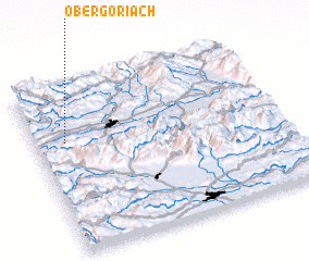 3d view of Obergöriach