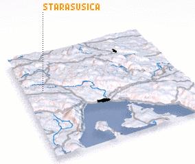 3d view of Stara Sušica