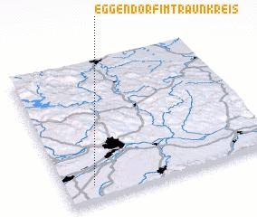 3d view of Eggendorf im Traunkreis