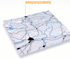 3d view of Hundsfussberg
