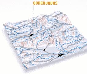 3d view of Gorenja Vas