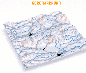 3d view of Gorenja Ravan