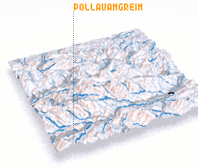 3d view of Pöllau am Greim