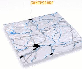 3d view of Samersdorf