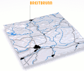 3d view of Breitbrunn