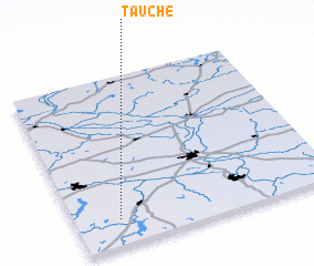 3d view of Tauche