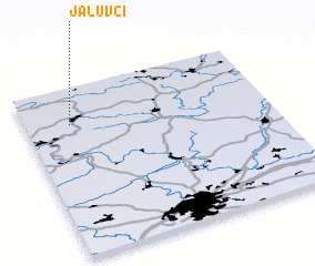 3d view of Jalŭvčí
