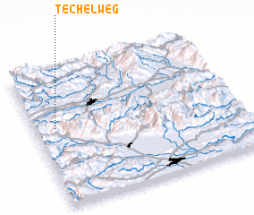 3d view of Techelweg