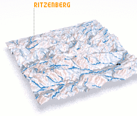 3d view of Ritzenberg