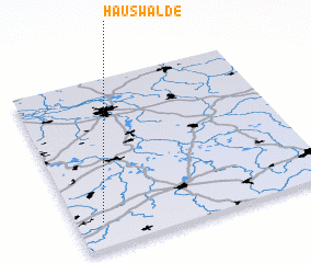 3d view of Hauswalde