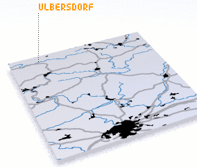 3d view of Ulbersdorf