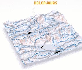 3d view of Dolenja Vas