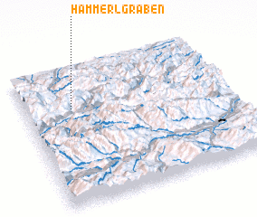 3d view of Hammerlgraben