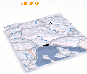 3d view of Jakovica