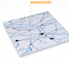 3d view of Bahrensdorf