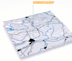 3d view of Kimmersdorf