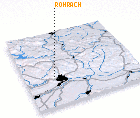 3d view of Rohrach